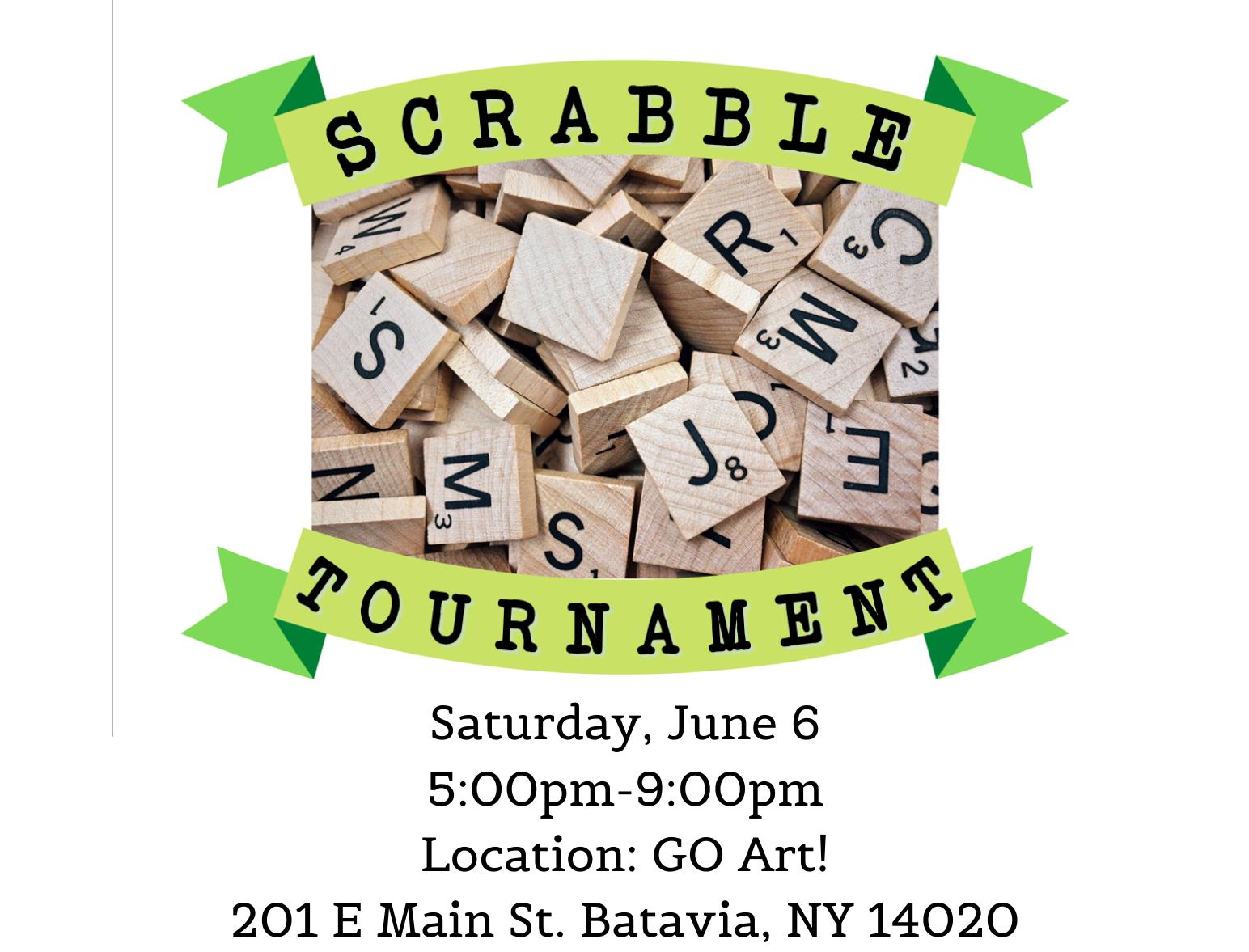 Scrabble Tournament Fundraiser