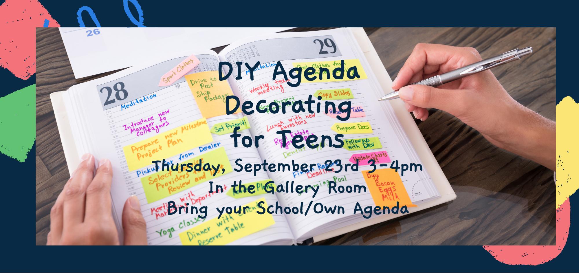 Agenda DIY Decorating