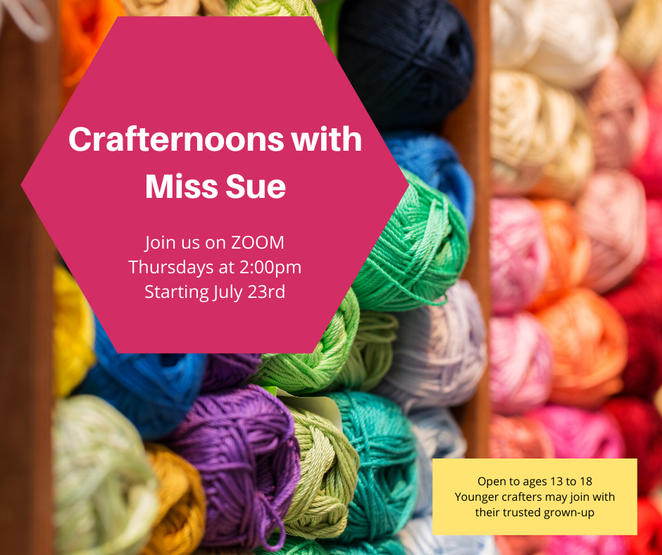 Crafternoons with Miss Sue