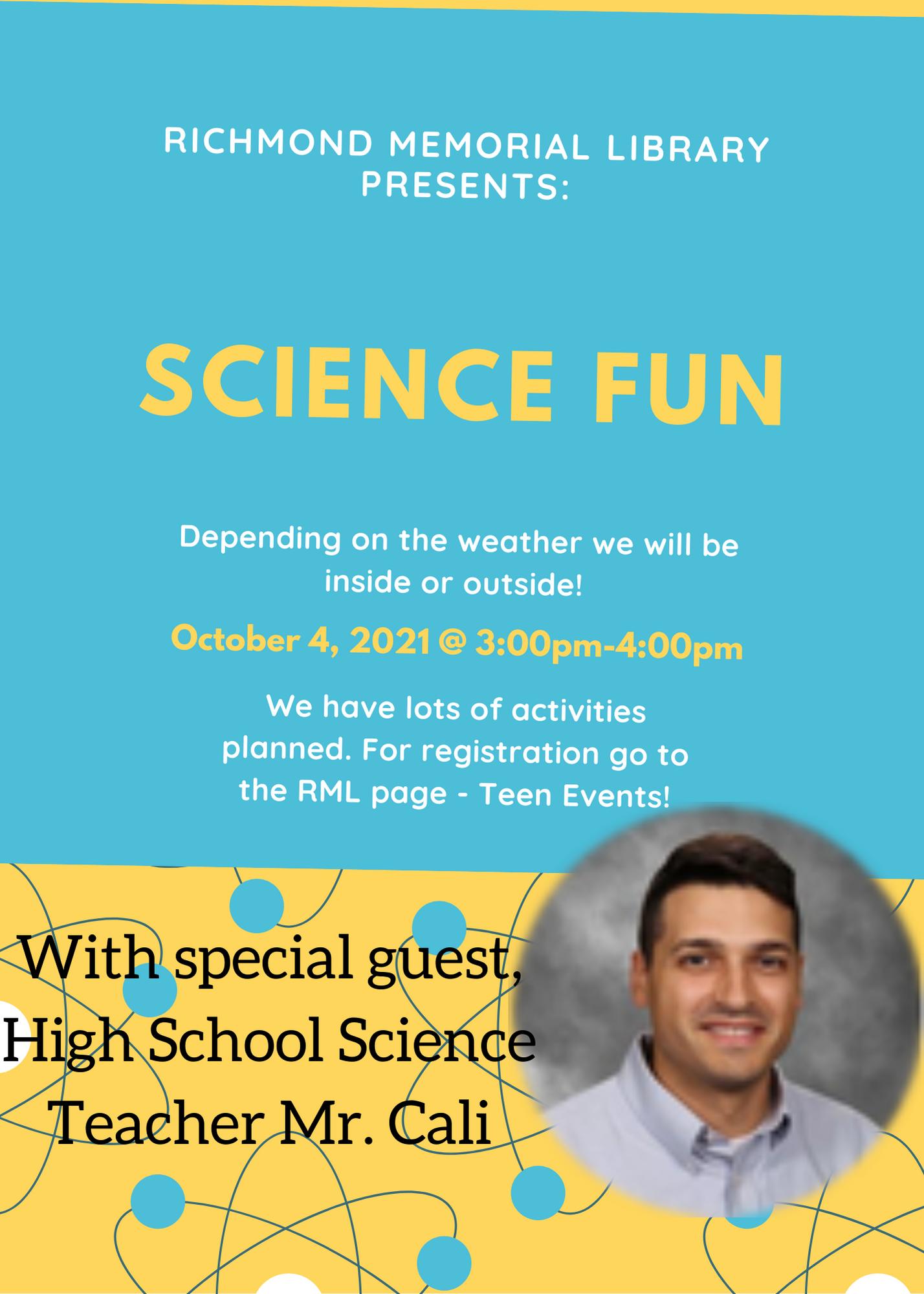 Science Fun with Mr. Cali