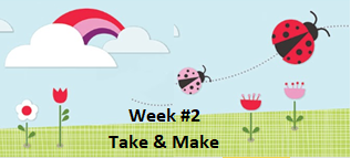 RML Kids Crafts To Go -- Week #2 -- THIS PROGRAM IS FULL