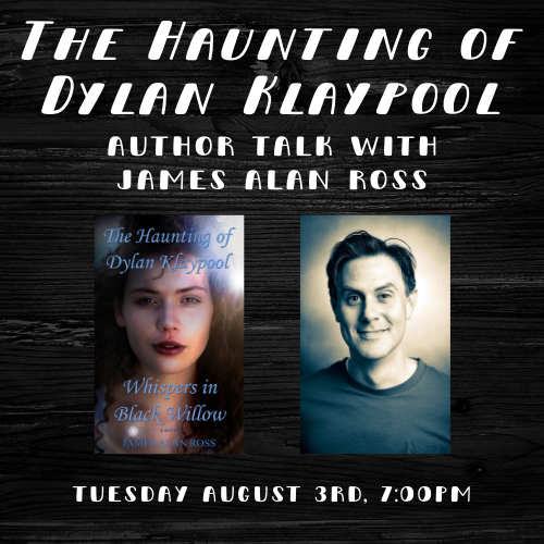 The Haunting of Dylan Klaypool Author Talk