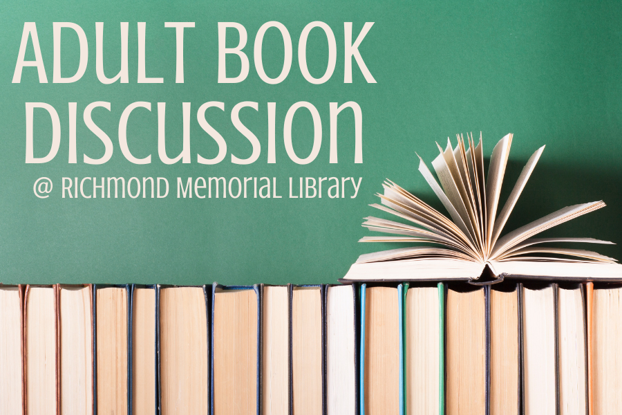Evening Adult Book Discussion August